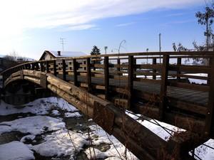 il ponte rustico…