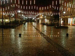 Piazza Prinetti a Natale