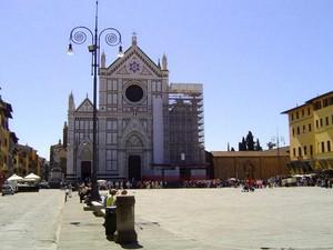 Firenze piazza s.Croce