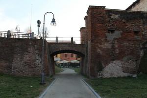 Il Ponte Pedonale del Castello