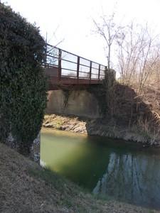 ponte sul fiume zeno