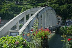 Ponte sul fiume Isarco