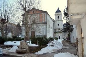 Neve in Piazza Chiesa – Conca Casale