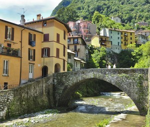 L'antico ponte sul Telo