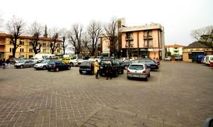 La piazza centrale