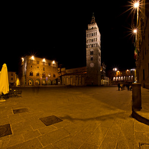 Pistoia by night