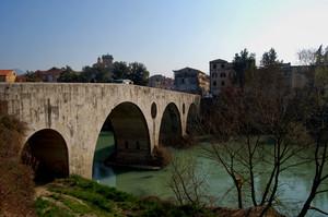 Capua: ponte romano sul Volturno