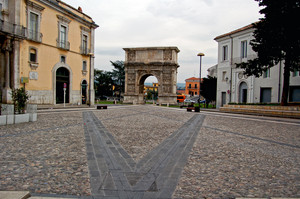 Benevento: largo via Traiano
