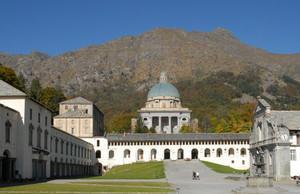 Piazzale del Santuario di Oropa