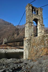 Ponte in legno di Morca