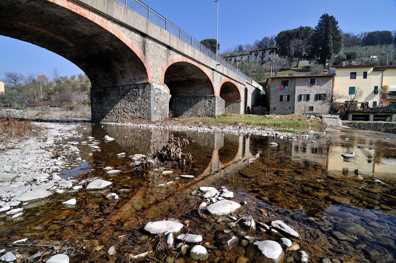 ''Ponte di via Vecchia Montanina'' - Pistoia