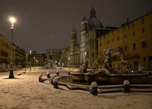 beautiful Rome de night