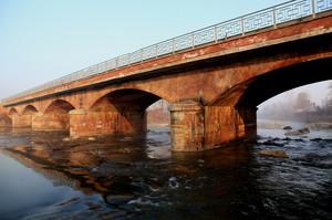 Ponte su torrente Maira