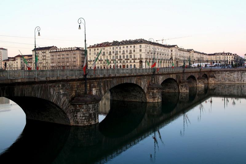 ''Ponte in onore di Vittorio Emanuele I°'' - Torino