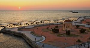 Deliato ir tramonto a Livorno!