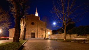 Luna piena su San Maurizio.
