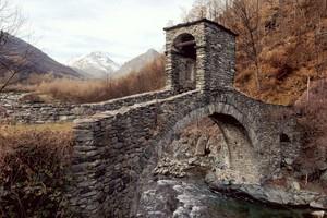 Il ponte di Forno di Lemie
