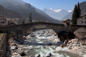 Il ponte di Lillianes