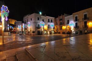 Piazza Odegitria in Festa
