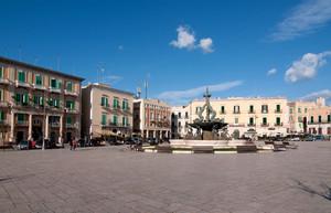 La bella piazza Vittorio Emanuele II