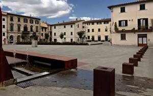 La piazza di Lastra a Signa