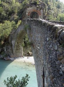 Il ponte del Roch o del diavolo, anno 1377