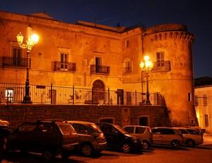 Largo Palazzo nell'ora blu