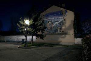 Piazza e murales