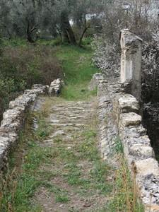 Ponticello medievale in Località Roncagli