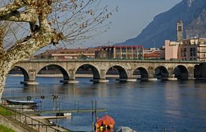 Ponte vecchio A.Visconti