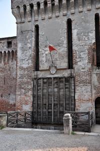 Ponte alzato al Castello di Padernello
