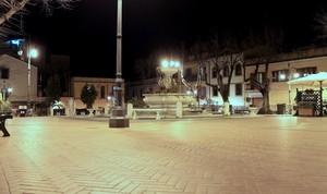 Piazza deserta