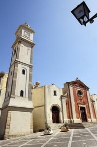 Piazza della Parrocchiale a Snt'Antioco