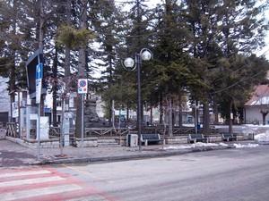 Piazza Misasi a Camigliatello Silano