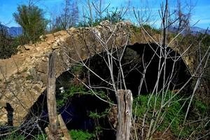"""Ponte romano sul """" Rio del Maltempo"""" – Località Frattelle – Vairano Patenora"""