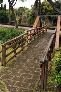 Ponte in legno e mattoni