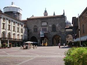 Piazza Vecchia in Città Alta