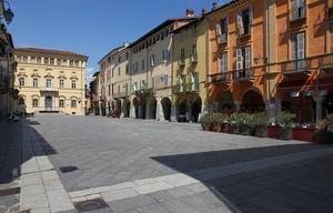 La piazza di Piazzo