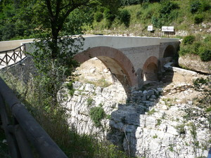 Ponte romano sul Titerno