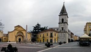 Benevento: piazza Santa Sofia
