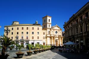 Catanzaro: piazza Pasquale Galluppi