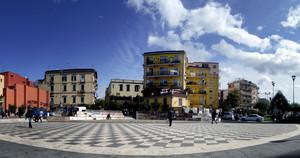 San Giorgio a Cremano: piazza Massimo Troisi