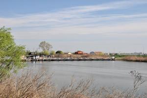 Ponte di barche verso Gorino Veneto