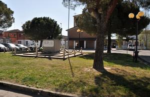 Piazza della Libertà a Gorino