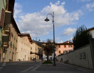 Piazza Italia a Calliano