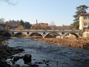 L'antico ponte di Agliate