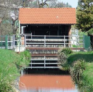 ponte e chiusa sul rio