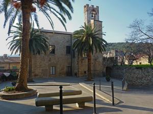 La piazza con la torre