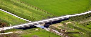 Il Ponte Villanova sul torrente Candelaro