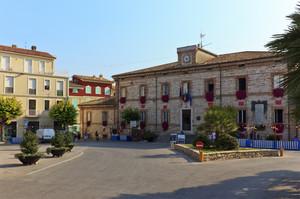 Piazza del Santuario (ma questo è il Municipio … )